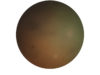 Body 07.14.16, oil on tondo, 20 inch diameter, 2016